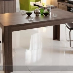 Ma Ruokapöytä Lana 88x160 Cm Tumma Tammi