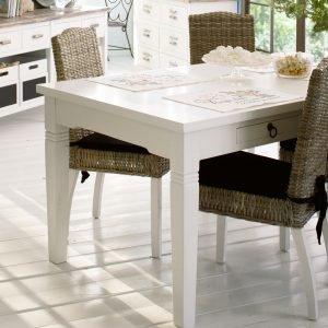 Madrid Ruokapöytä Valkoinen 175x90 Cm