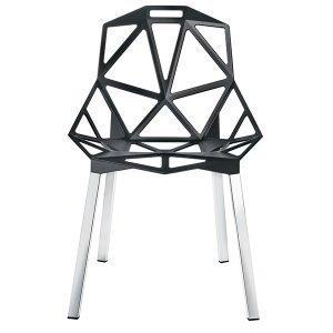 Magis Chair One Tuoli Antrasiitti Kiillotetut Alumiinijalat
