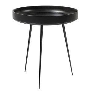 Mater Bowl Pöytä Keskikokoinen Musta