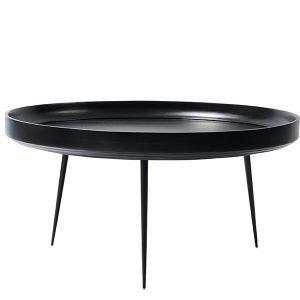 Mater Bowl Pöytä Xl Musta