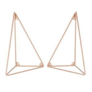 Maze Pythagoras Hyllykonsoli Vaaleanpunainen 2-Pakkaus