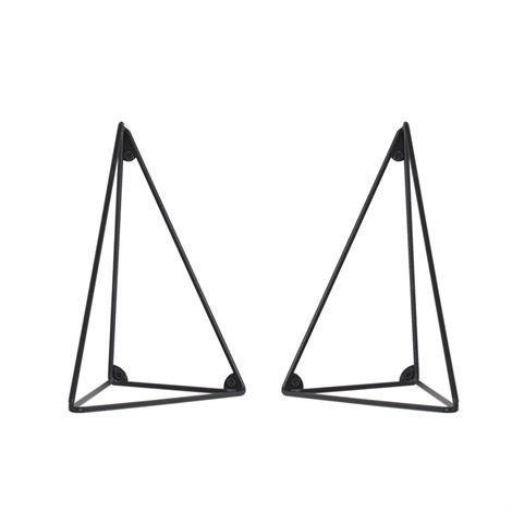 Maze Pythagoras Hyllynkannatin 2 kpl Musta