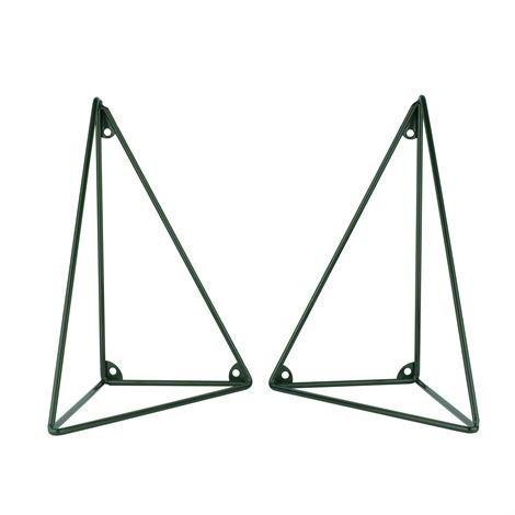 Maze Pythagoras Hyllynkannatin 2 kpl Tummanvihreä