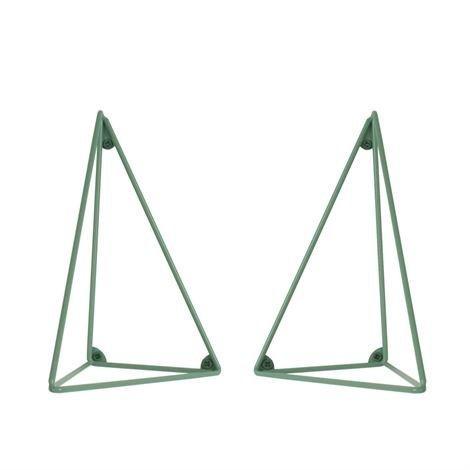 Maze Pythagoras Hyllynkannatin 2 kpl Vihreä