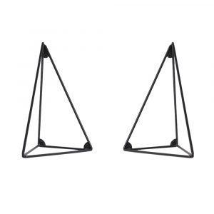 Maze Pythagoras Kannatin Musta 2-Pakkaus