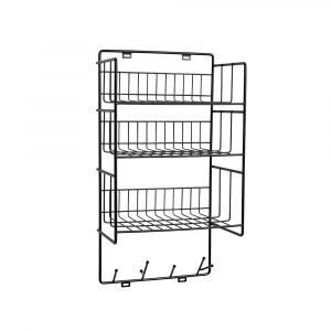 Maze Triple Shelf Hylly Musta