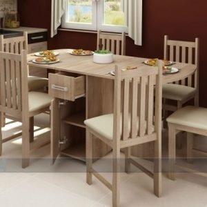Meblocross Klaffipöytä 80x100-160 Cm