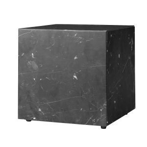 Menu Plinth Cubic Pöytä Musta Marmori