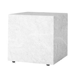 Menu Plinth Cubic Pöytä Valkea Marmori