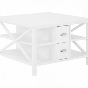 Michelle Sohvapöytä laatikollinen 80 Valkoinen