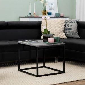 Mita Sohvapöytä 50 Betoni/Musta