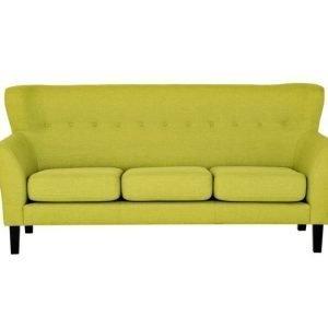 Monet 3-istuttava Sohva Lime