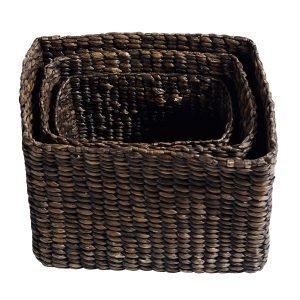 Muubs Basket Kori Musta 40x30 Cm