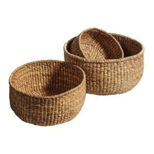 Muubs Basket Kori Nature 3-Pakkaus