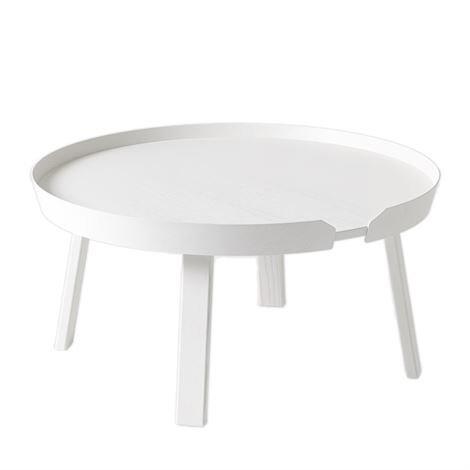Muuto Around Pöytä Iso Valkoinen