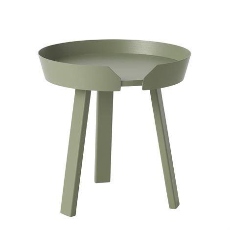 Muuto Around Pöytä Pieni Dusty Green Vihreä