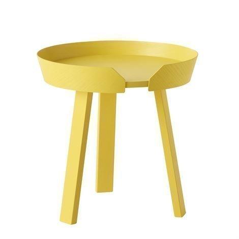 Muuto Around Pöytä Pieni Keltainen