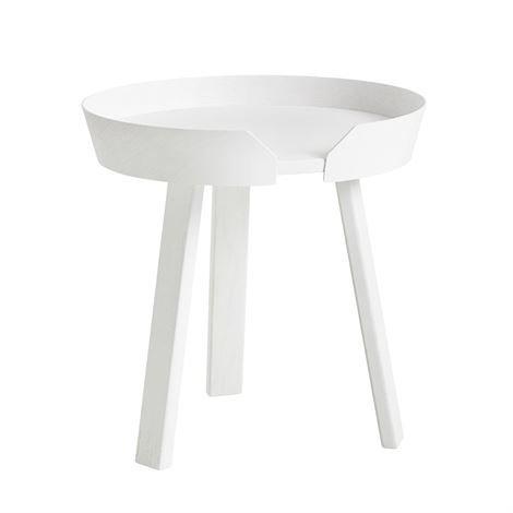 Muuto Around Pöytä Pieni Valkoinen