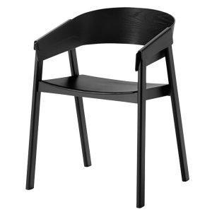 Muuto Cover Tuoli Musta