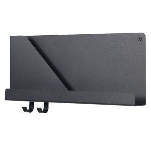 Muuto Folded Hylly Musta Pieni