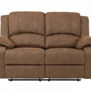 Nanterre 2-istuttava Recliner-sohva Vaaleanruskea