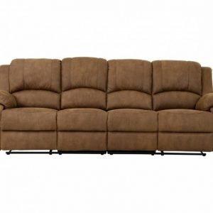 Nanterre 4-istuttava Recliner-sohva Vaaleanruskea