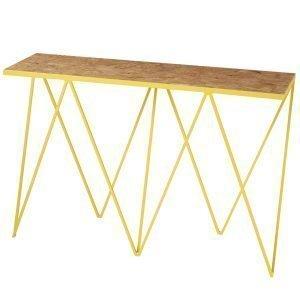 &New Giraffe Pöytä Osb / Keltainen