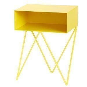 &New Robot Sivupöytä Keltainen