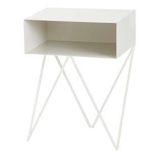 &New Robot Sivupöytä Valkoinen