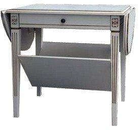 Nizza 20 Klaffipöytä Antiikinvalkoinen