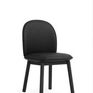 Normann Copenhagen Ace tuoli Tango nahka/musta