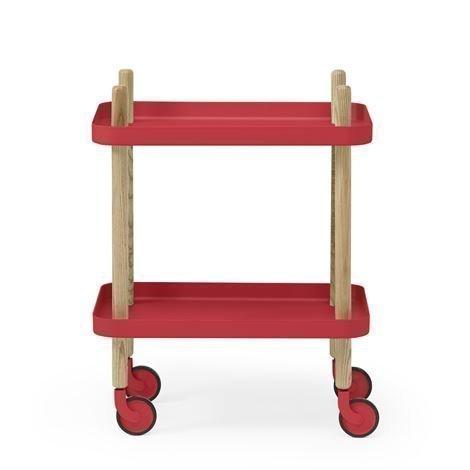 Normann Copenhagen Block Pöytä Punainen