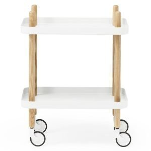 Normann Copenhagen Block Pöytä Valkoinen