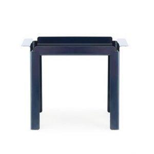 Normann Copenhagen Box pöytä sininen 33x60cm