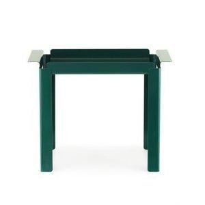 Normann Copenhagen Box pöytä sininen/vihreä 33x60cm