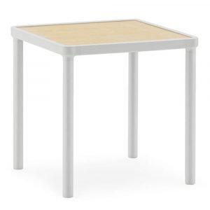 Normann Copenhagen Case Pöytä Vaaleanharmaa 40x40x40