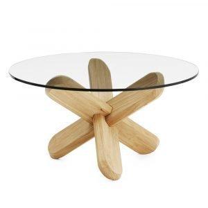 Normann Copenhagen Ding Pöytä Lasi / Tammi