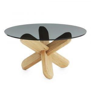 Normann Copenhagen Ding Pöytä Savu / Tammi