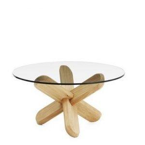 Normann Copenhagen Ding Pöytä tammi/lasi