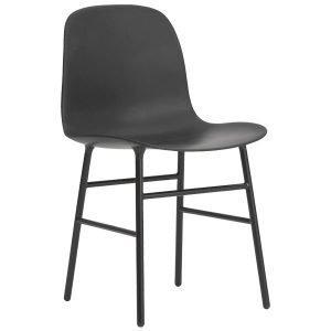 Normann Copenhagen Form Tuoli Musta / Metalli