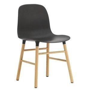 Normann Copenhagen Form Tuoli Musta / Tammi