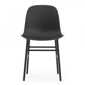 Normann Copenhagen Form Tuoli Musta / Teräs