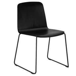 Normann Copenhagen Just Chair Tuoli Musta