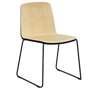 Normann Copenhagen Just Chair Tuoli Saarni / Musta