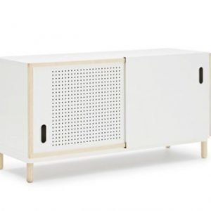 Normann Copenhagen Kabino sivupöytä valkoinen