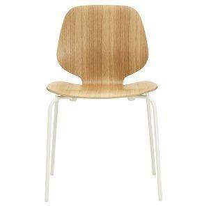 Normann Copenhagen My Chair Tuoli Tammi Valkoinen
