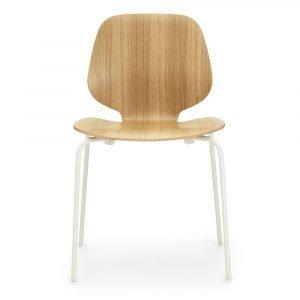 Normann Copenhagen My Chair Tuoli Tammi / Valkoinen