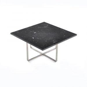 Ox Denmarq Ninety Sohvapöytä Marquina / Teräs 60x60x30 Cm