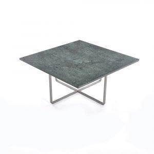 Ox Denmarq Ninety Sohvapöytä Vihreä Marmori / Teräs 80x80 Cm